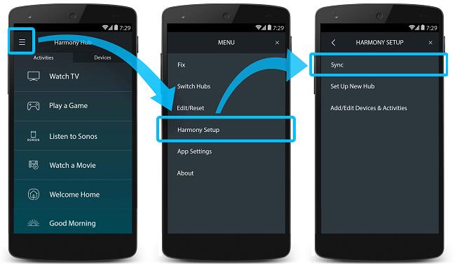 Sync Harmony App